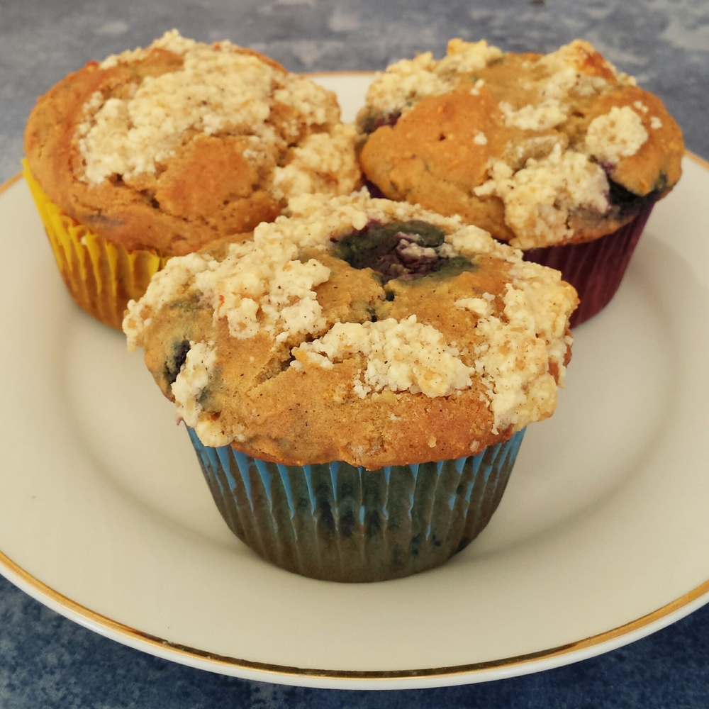 Blueberry Lemon Cream Cheese Muffins Recipes — Dishmaps
