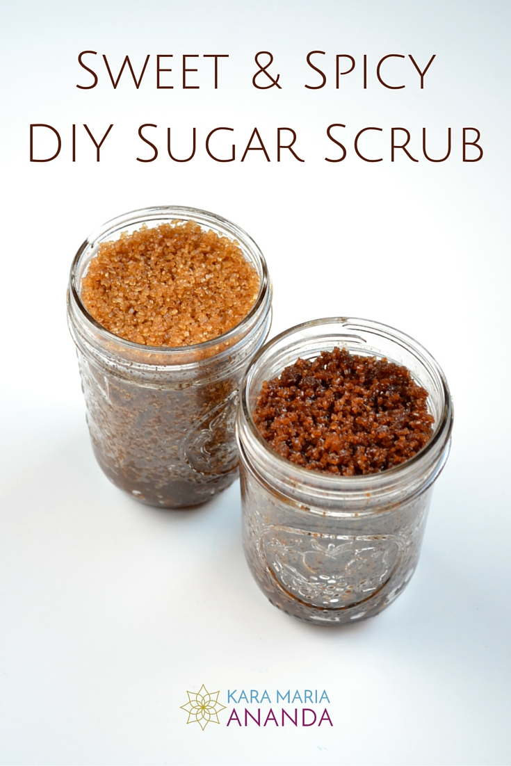 Sweet & Spicy DIY Sugar Scrub Recipes