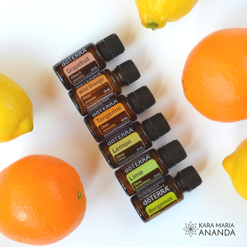 doTERRA Citrus Bliss Essential Oils