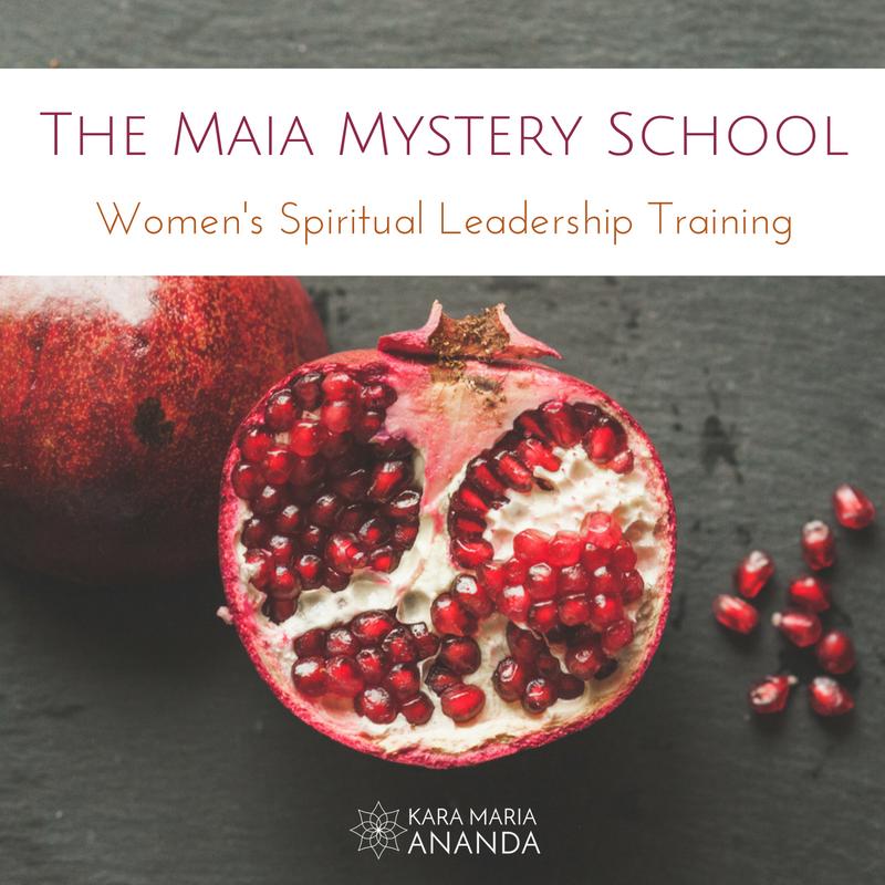 The Maia Mystery School: Women's Spiritual Leadership Coach Training