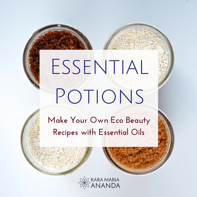 Essential Potions Ebook with Essential Oil EcoBeauty Recipes