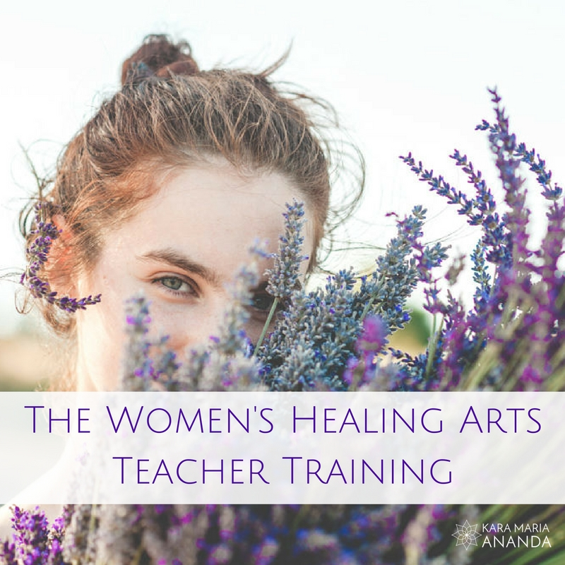 Women's Healing Arts Teacher Training: Holistic Feminine Wellness Education