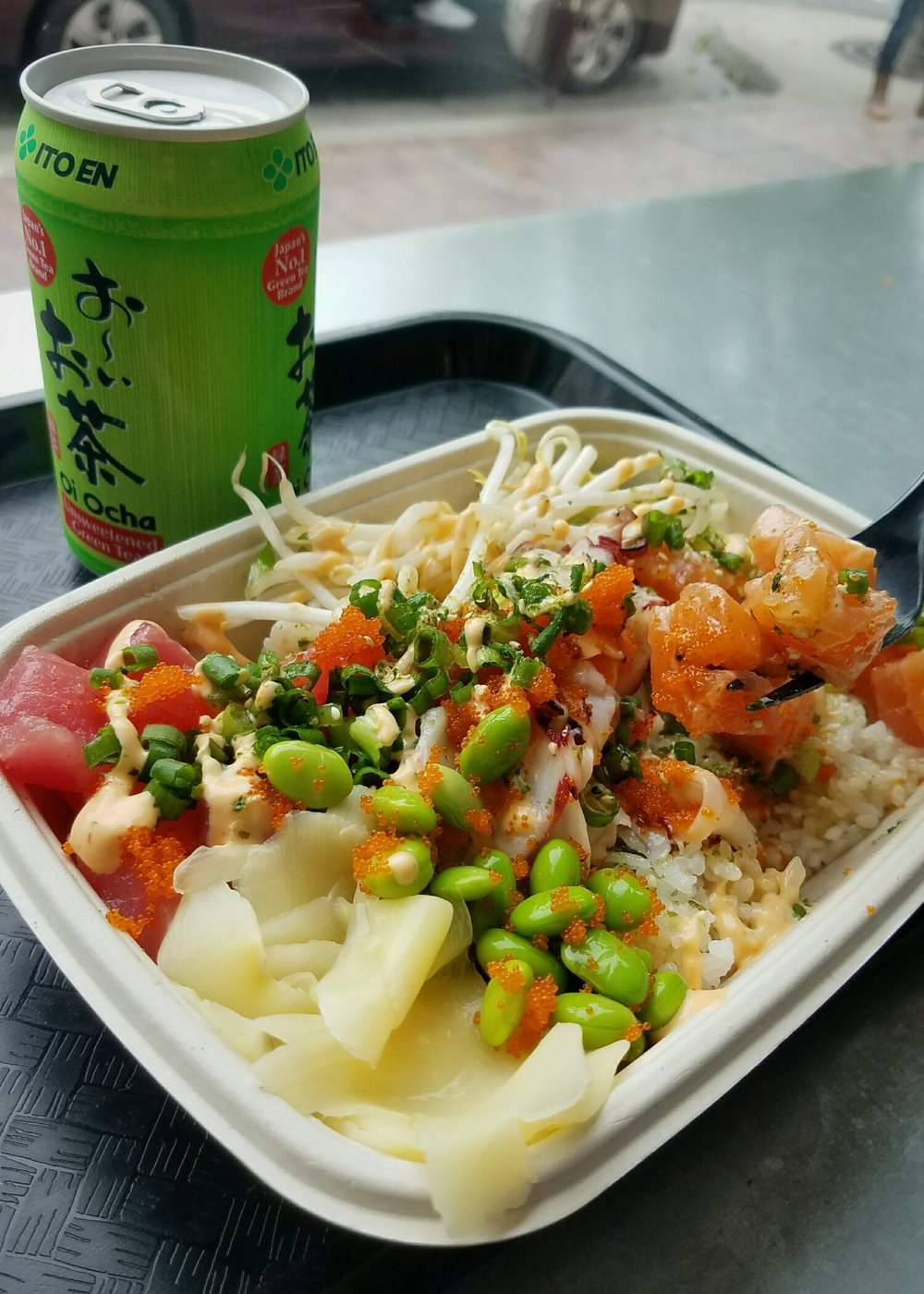 The Poke Lab in Monterey - incredibly fresh & delicious!