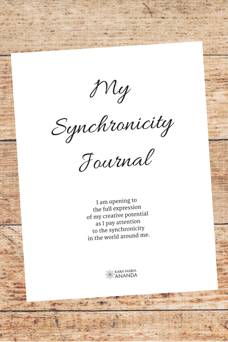 My Synchronicity Journal