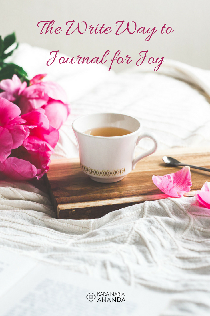 The Write Way to Journal for Joy