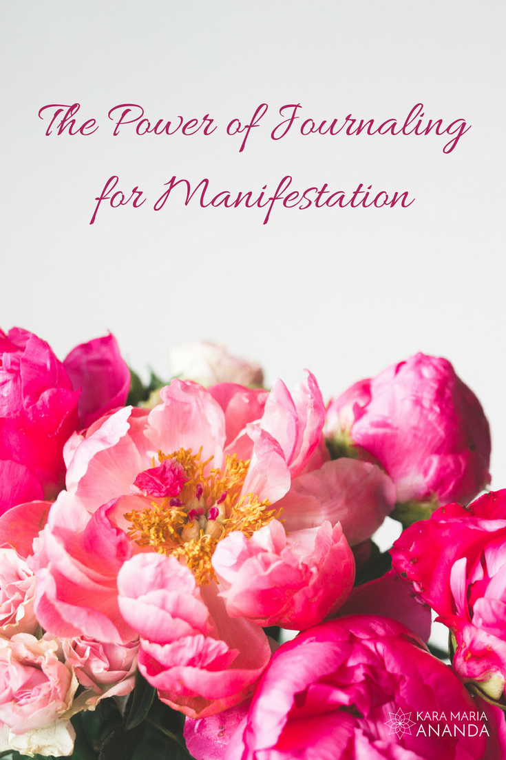 The Power of Journaling for Manifestation