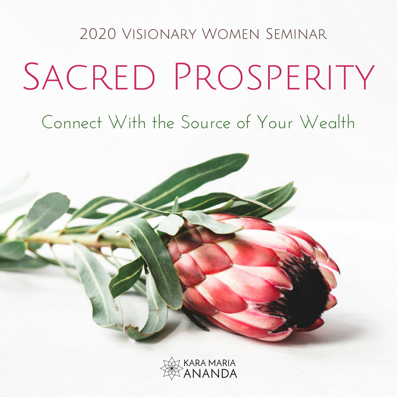 Sacred Prosperity - Connect with the Source of Your Wealth