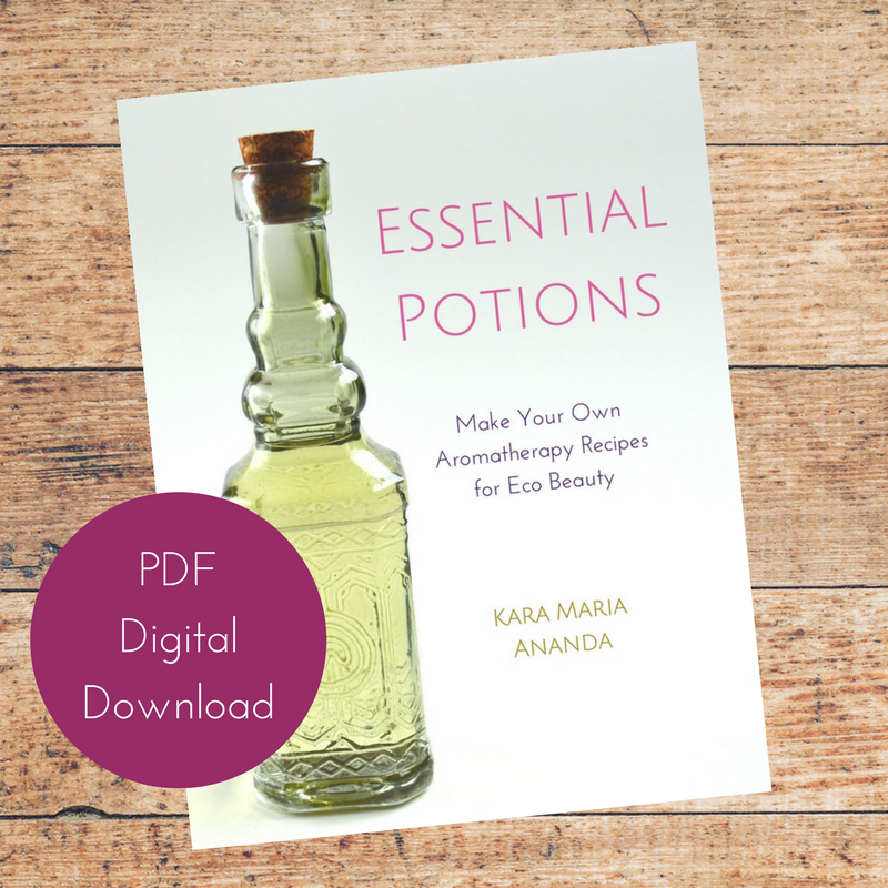 Essential Potions Recipe Ebook for Essential Oil Eco-Beauty