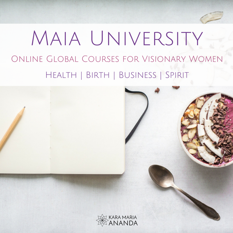 Maia University for Visionary Women's Health and Leadership with Global Online Programs