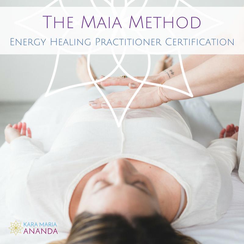 The Maia Method of Energy Healing