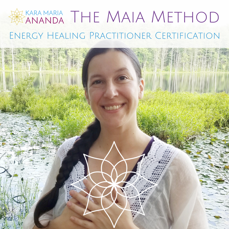 Maia Method Energy Healing Practitioner Certification Online