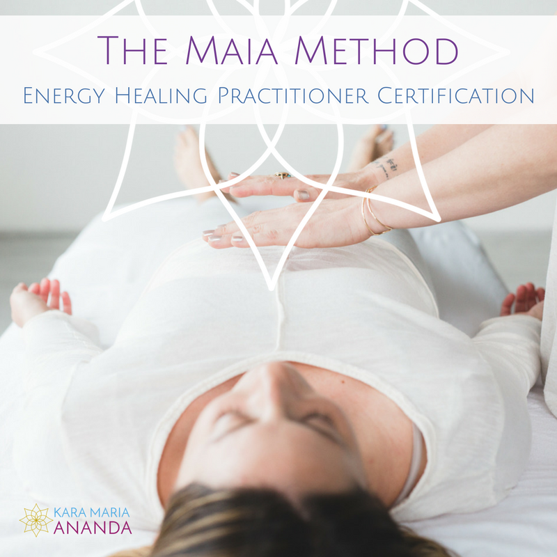 The Maia Method of Energy Healing: Online Practitioner Certification Training Program