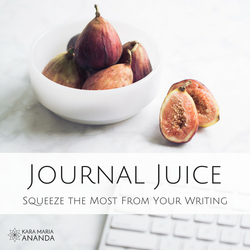 Journal Juice: Squeeze the Most From Your Writing