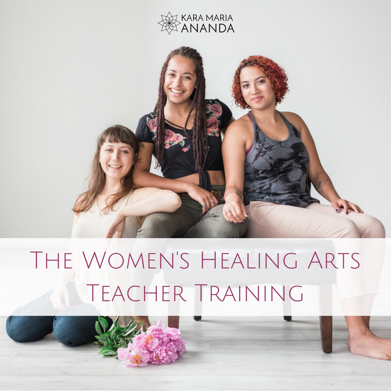 Women's Healing Arts Teacher Training