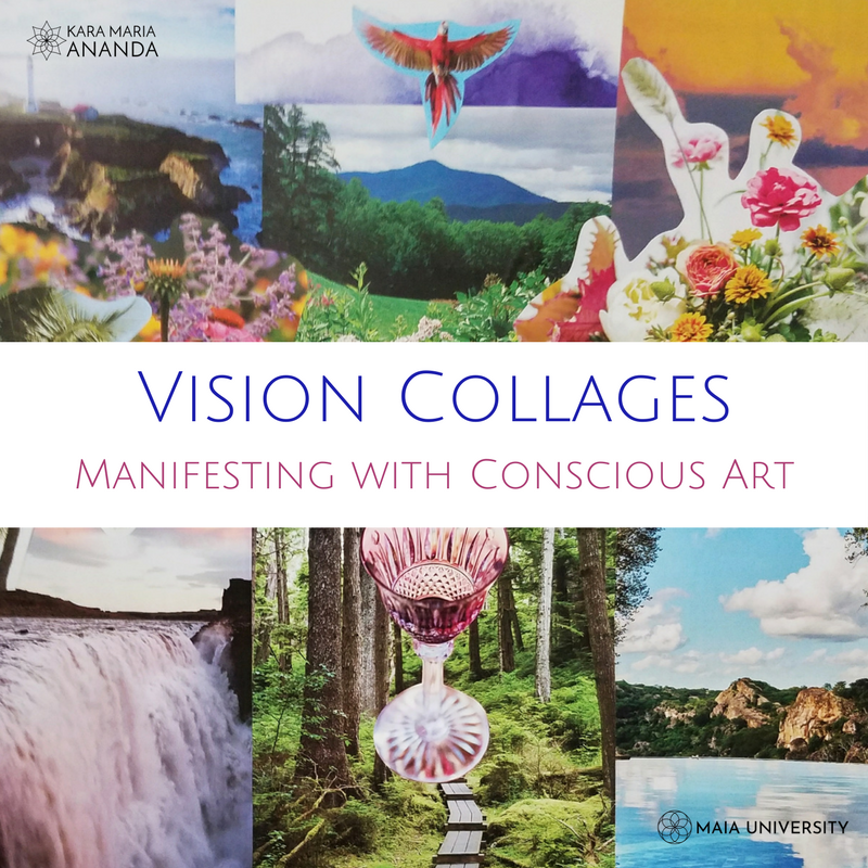 Vision Collages: Manifesting with Conscious Art