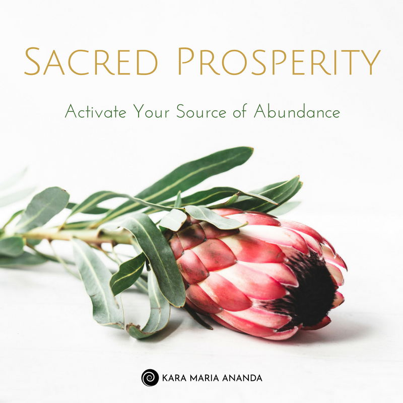 Sacred Prosperity