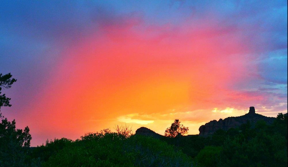 Sedona Sunset Glow
