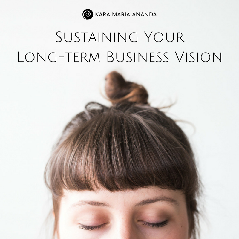 Sustaining Your Longterm Business Vision