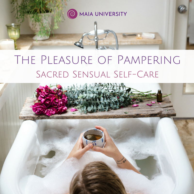 The Pleasure of Pampering for Women's Self-Care