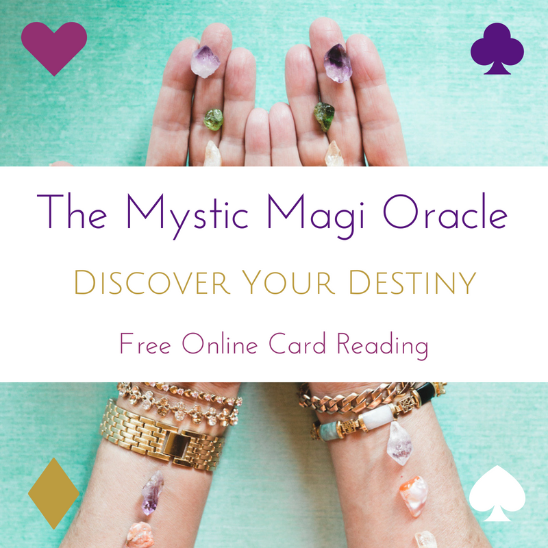 The Mystic Magi Oracle - Destiny Card Affirmation
