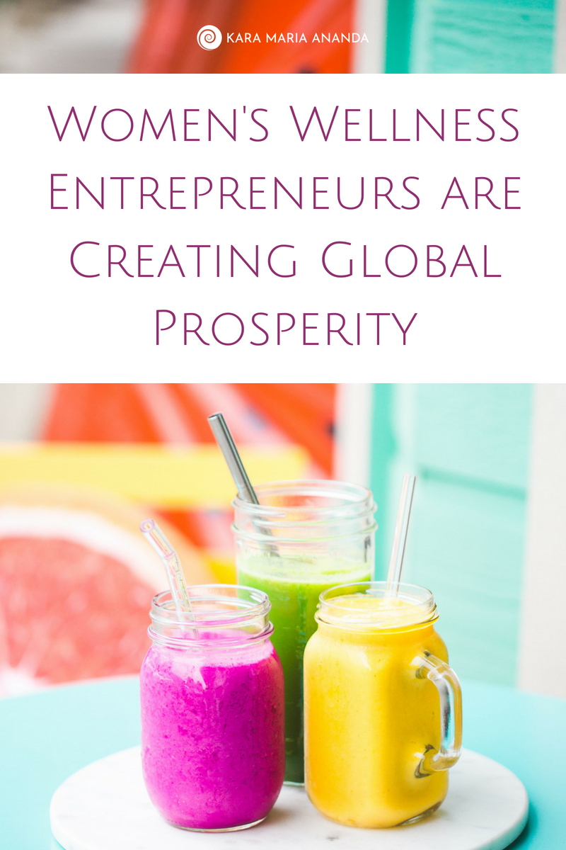 The global women's wellness movement is supporting global prosperity and empowered holistic wellness for people today, and all the generations to come.