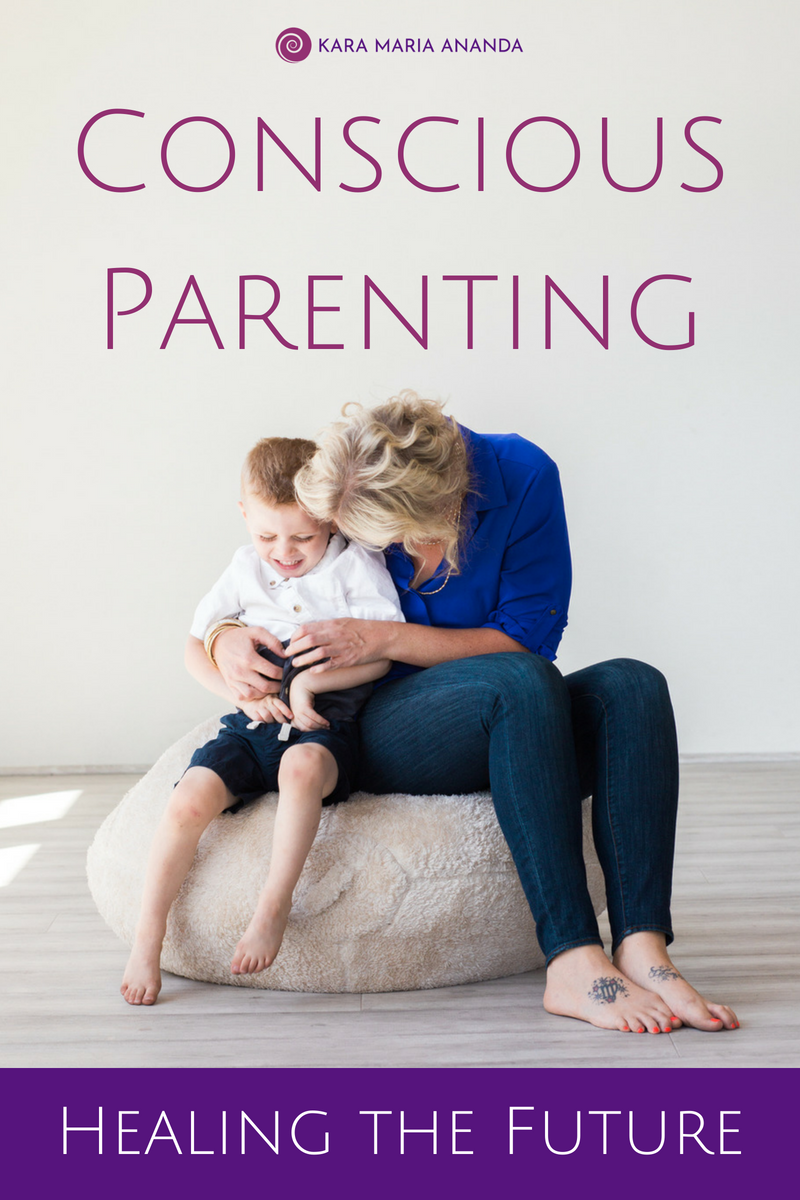 Conscious parenting is about honoring our babies and children as conscious aware people and treating them with love, empathy, and respect.