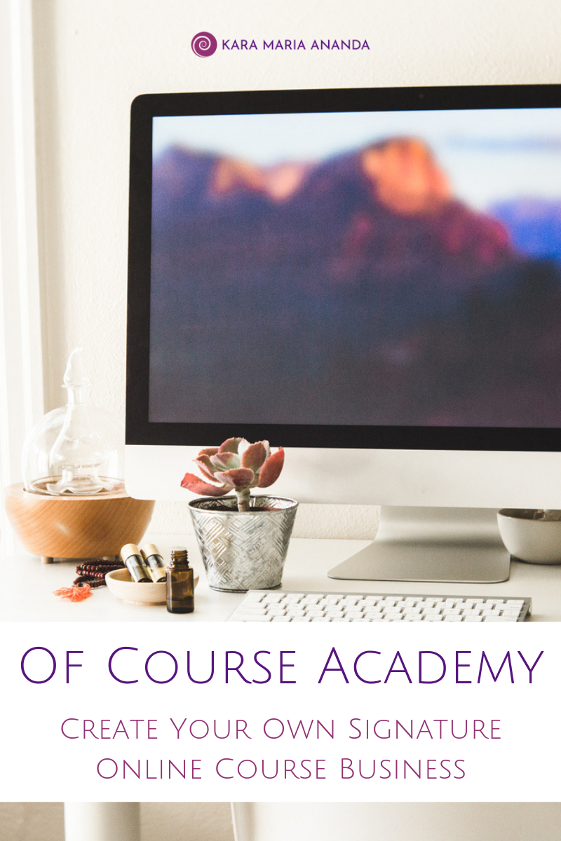 Of Course Academy - Learn how to create an online course business and craft your signature program.