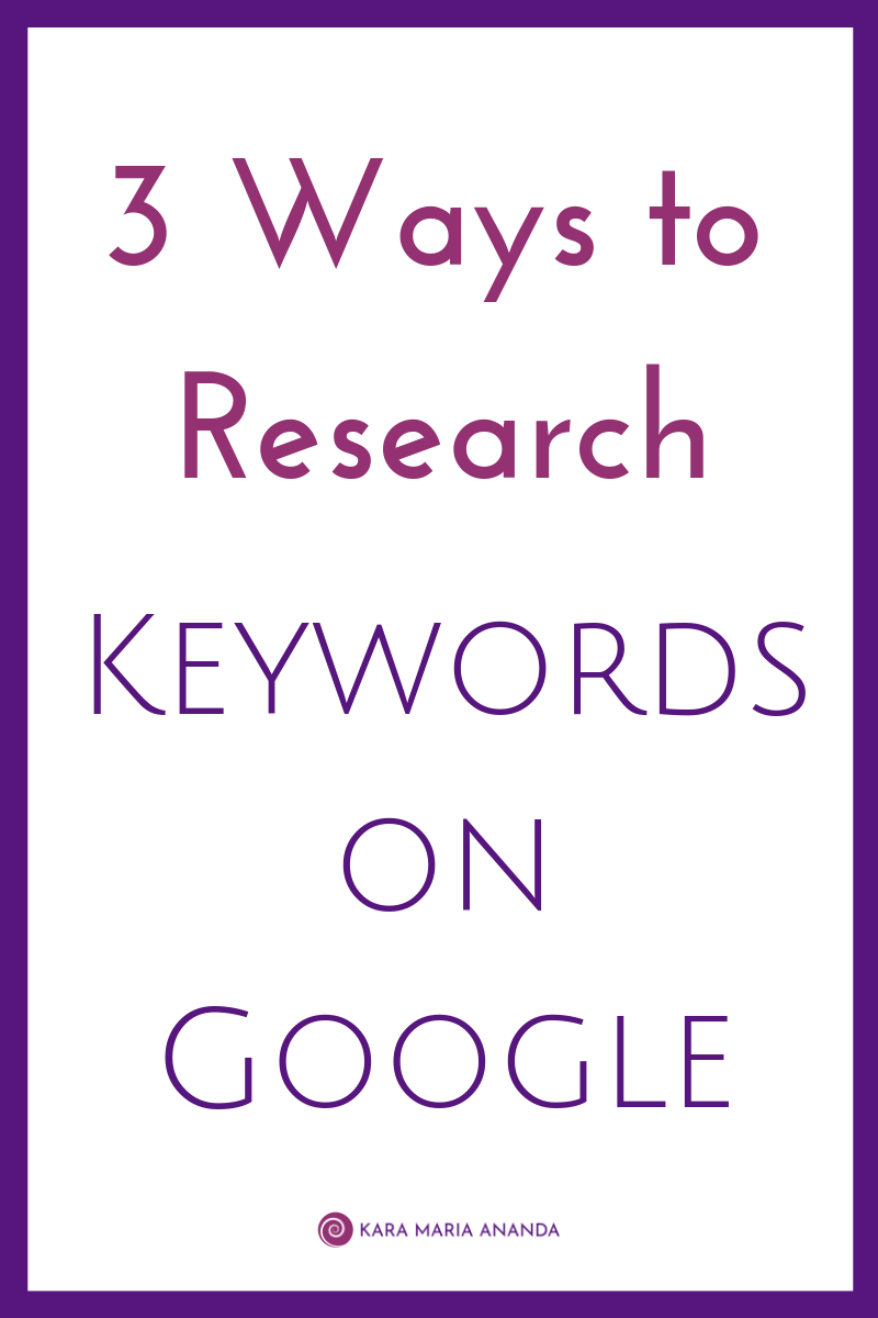 3 Ways to Research Keywords on Google with the Free Search, Trends, and Keyword Planner Tools #bloggingtips #onlinebusinesstips #keywordresearch #keywordplanner
