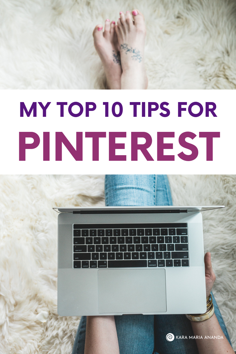 Top 10 Tips for Pinterest to build engagement and website traffic for bloggers and entrepreneurs.