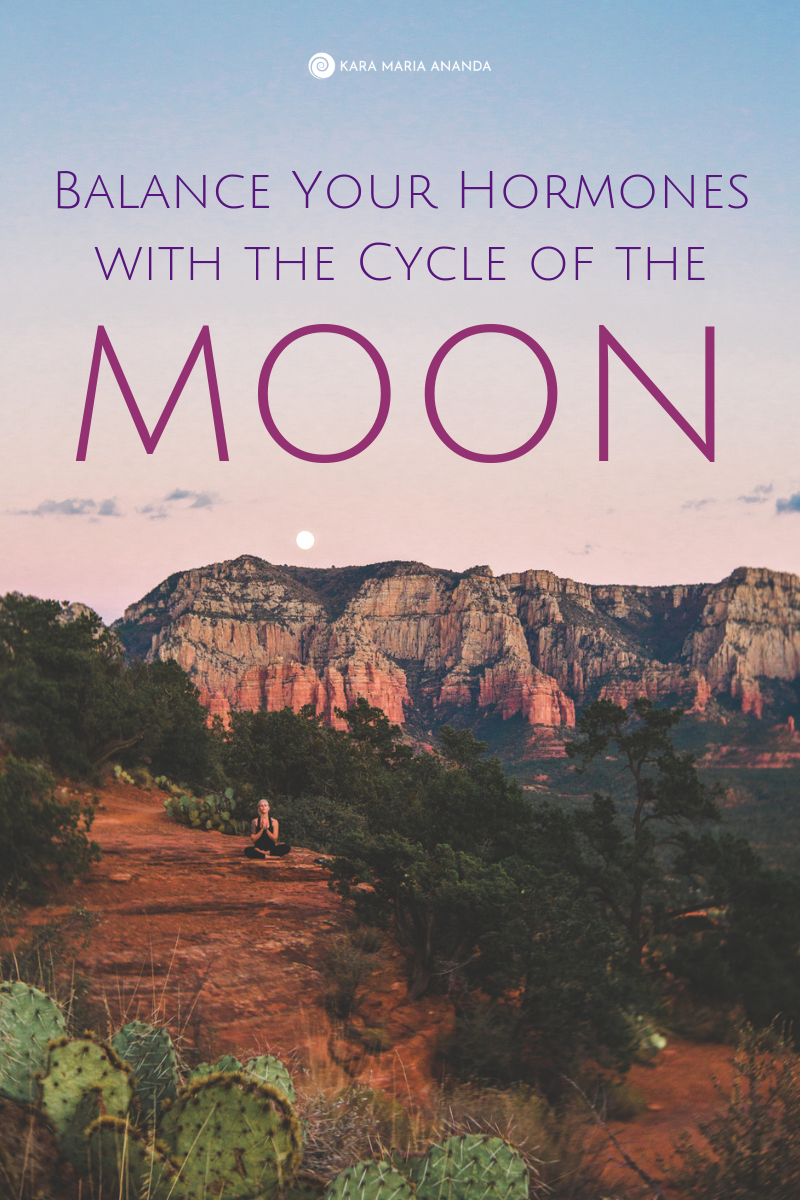 How to balance your hormones and regulate your menstrual cycles with the light of the moon through lunaception.