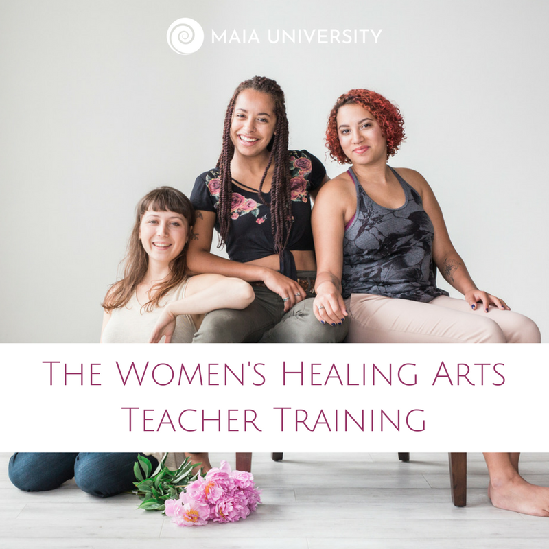 The Women's Healing Arts Teacher Training online holistic women's wellness educator course.