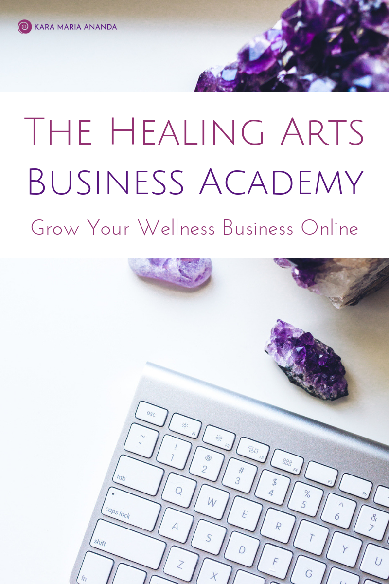 Healing Arts Business Academy - Online Business Training Course for Healers and Holistic Entrepreneurs