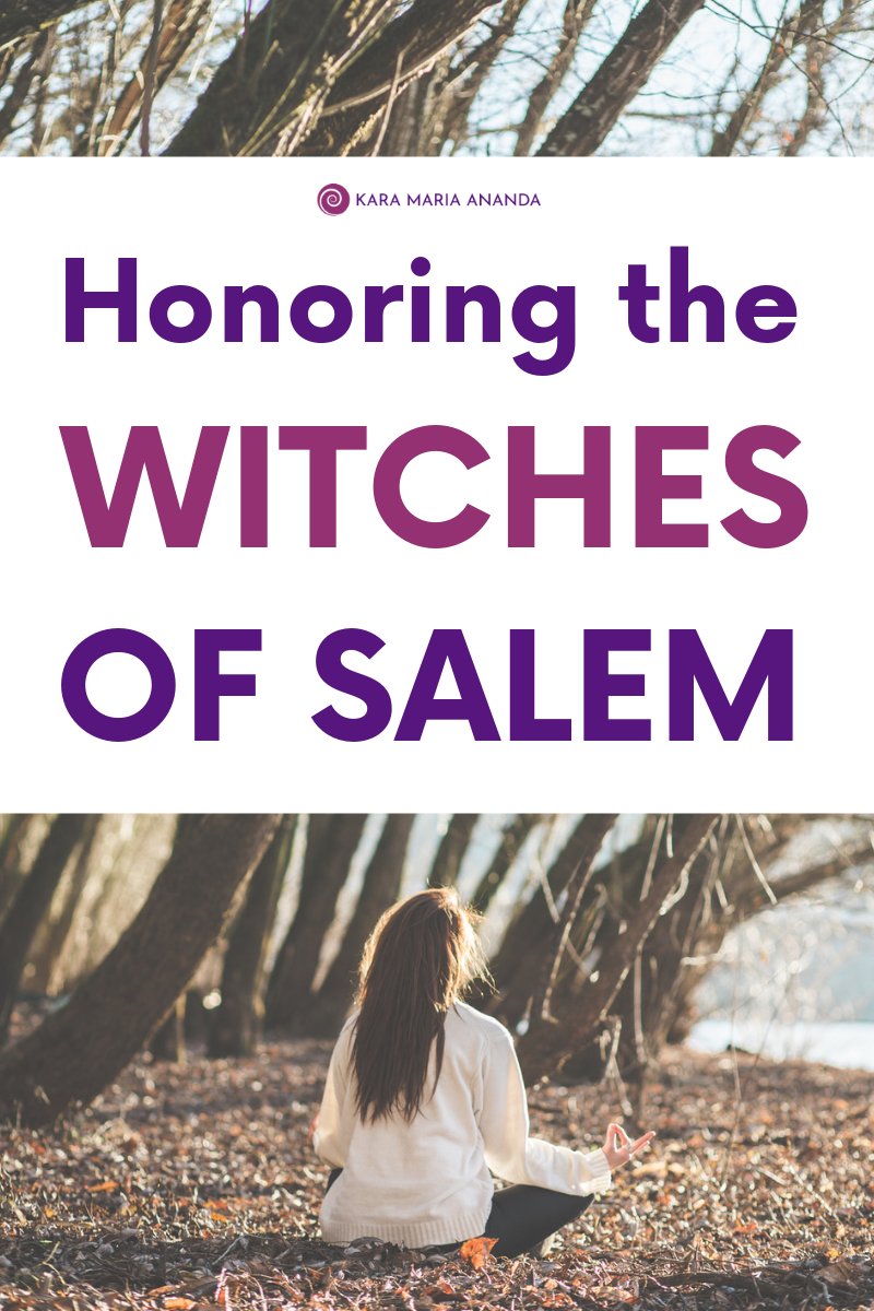 Honoring the Witches of Salem