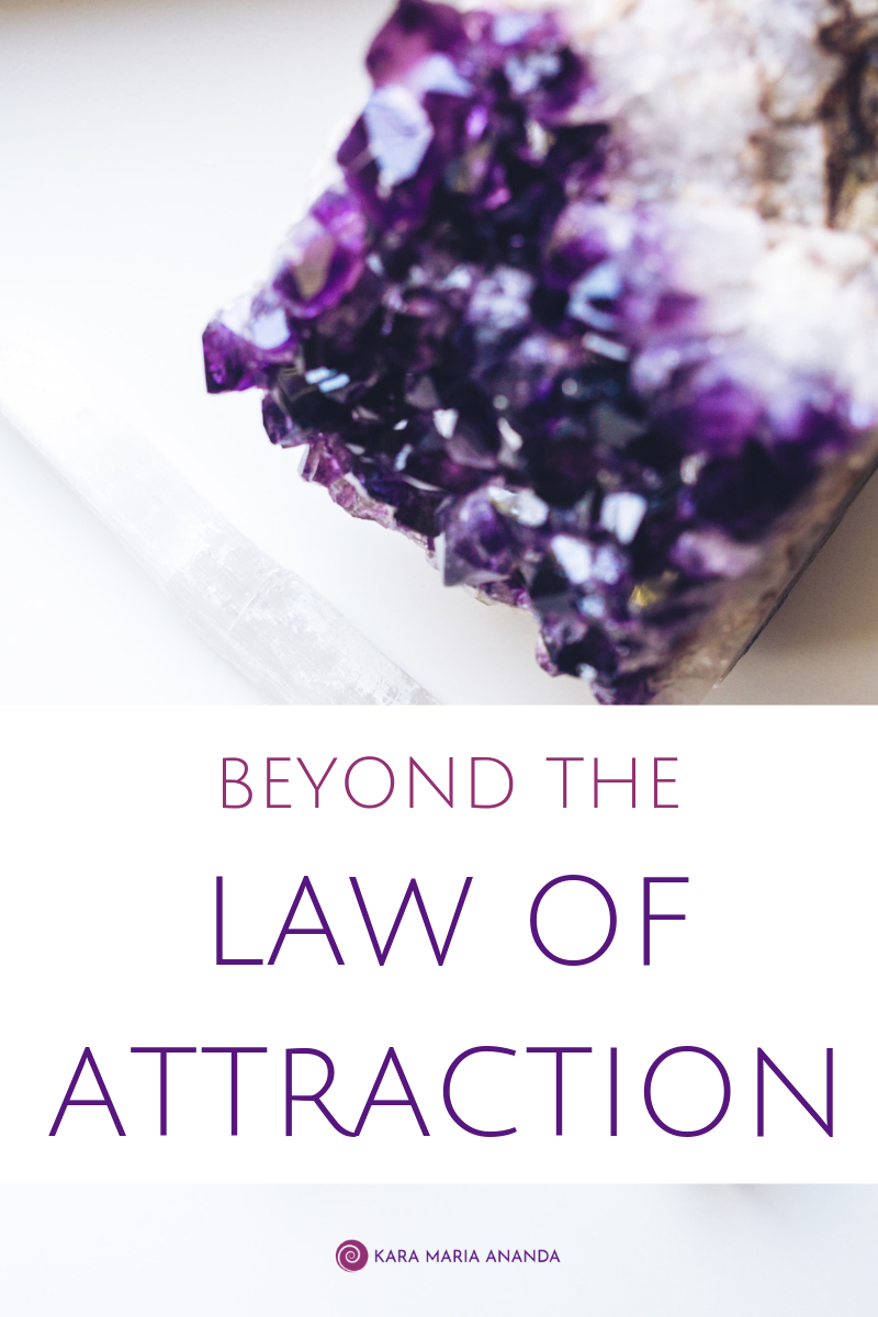 Beyond the Law of Attraction: The Advanced Art of Manifestation