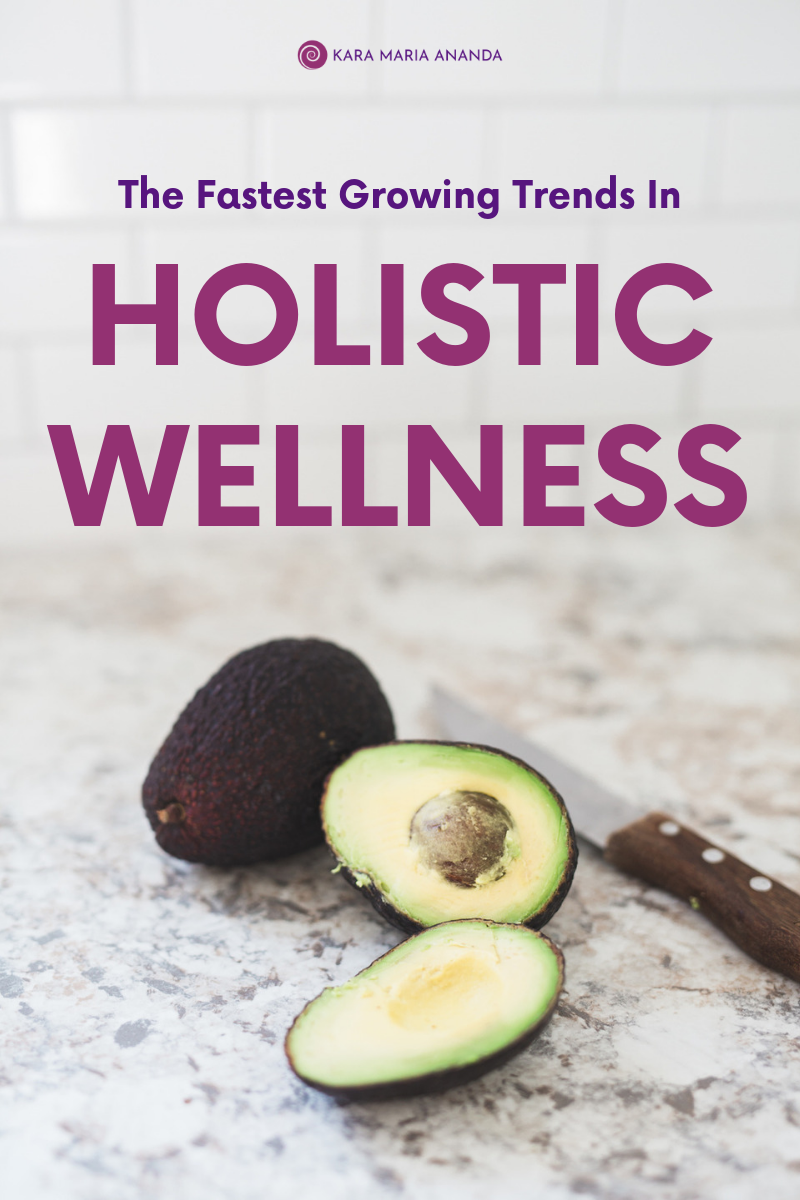 The fastest growing trends in the global holistic wellness industry today.