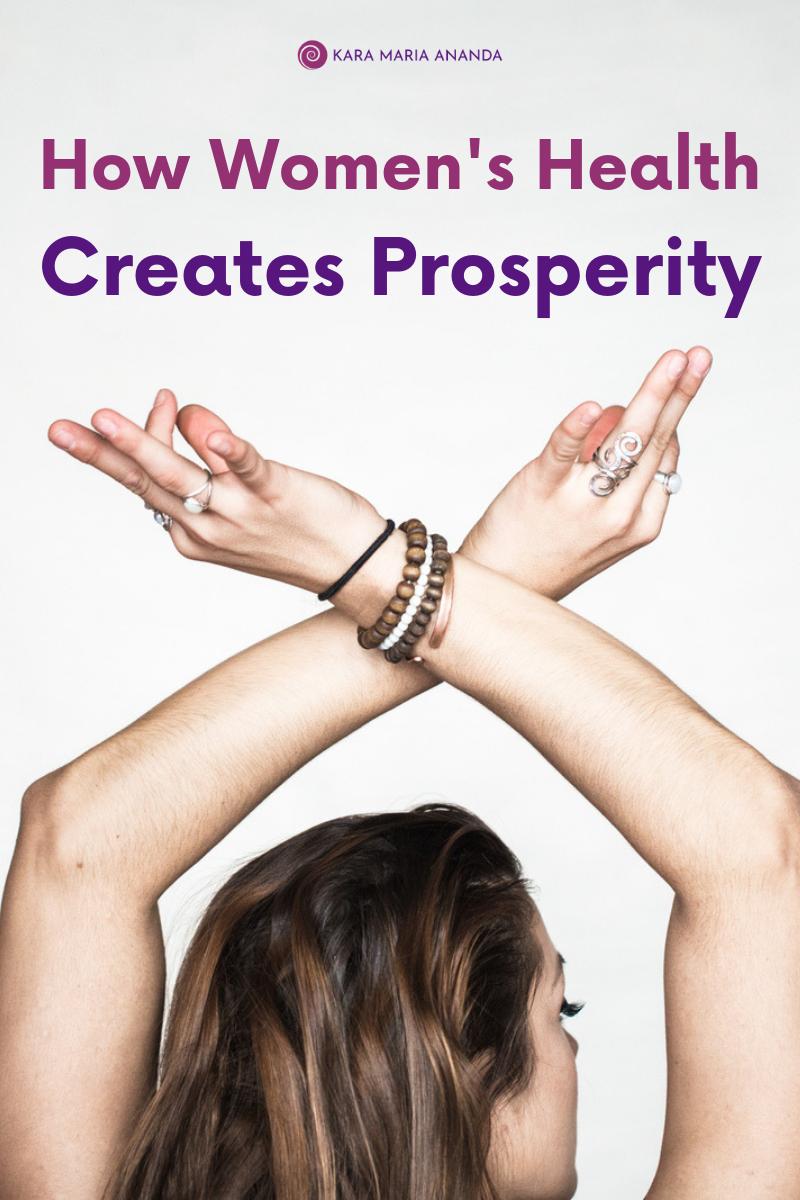 How Women's Health Creates Prosperity
