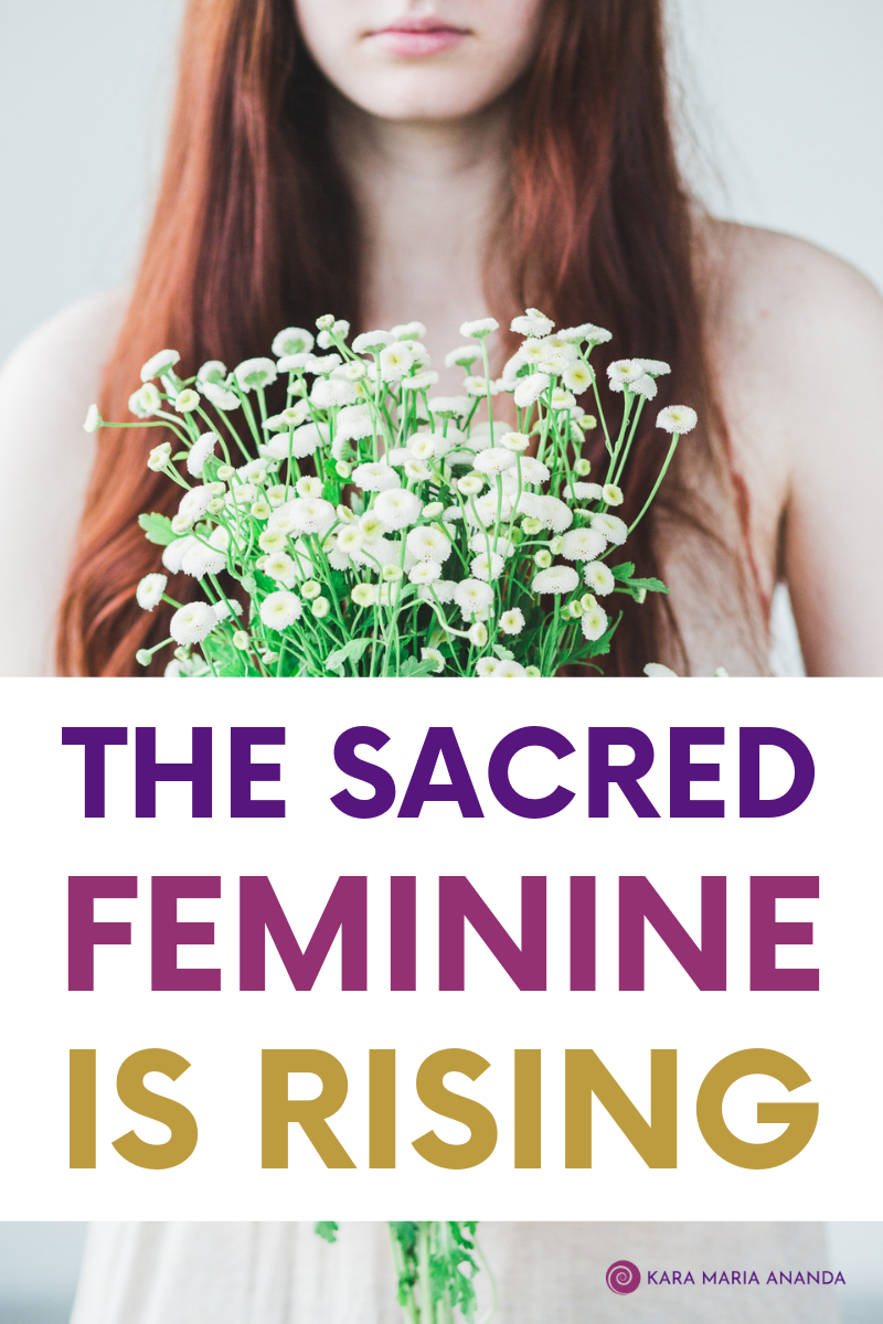 The Sacred Feminine is Rising: Midwifing the Rebirth of Divine Union