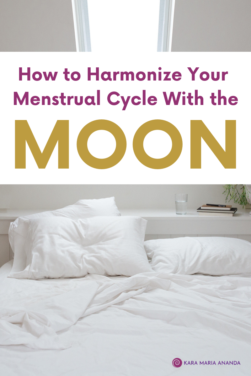 How to Harmonize Your Menstrual Cycle with the Moon