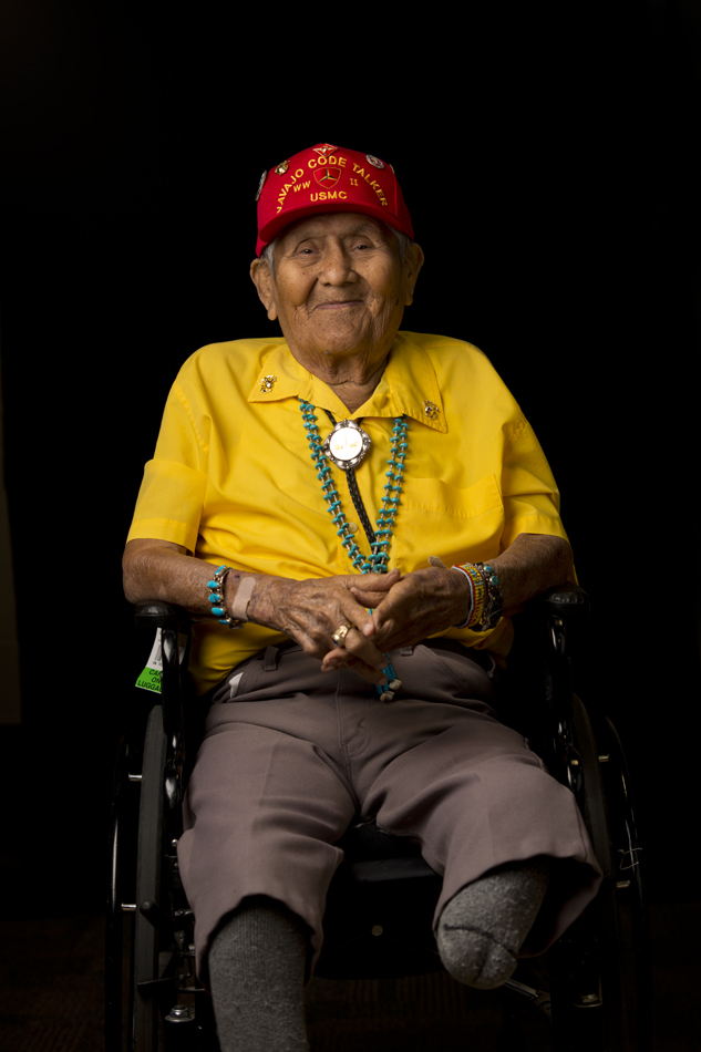 Chester Nez- WWII Veteran and last surviving Navajo Code Talker.