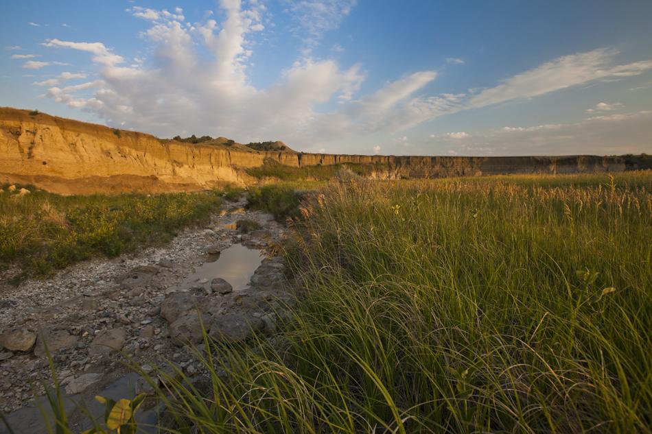 White River- Badlands National Park, South Dakota.