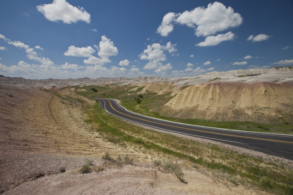 Highway 240- Badlands National Park, South Dakota.