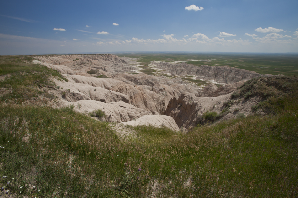 South Rim- Badlands National Park, South Dakota