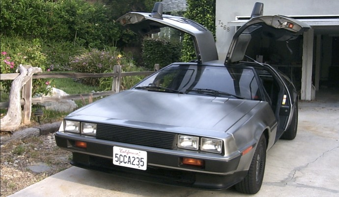 ... DeLorean front with doors open.jpg ... & All Automative u2014 Joeu0027s Projects