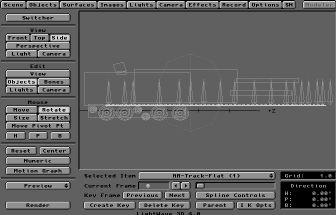 Frame 0: Straight Track