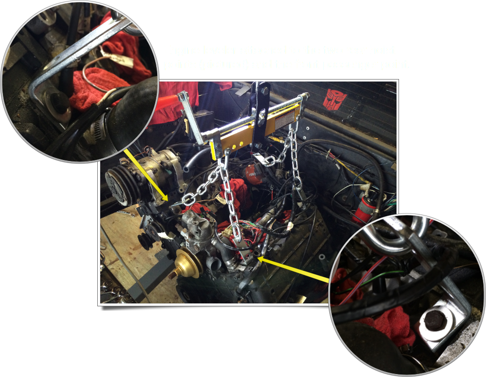 Engine Hoist Points