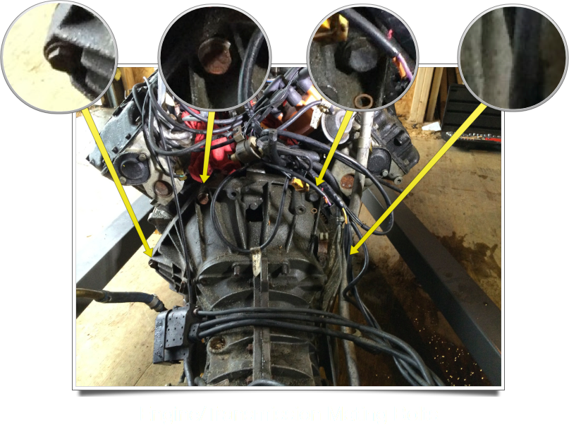 Engine/Transmission Mating Bolts