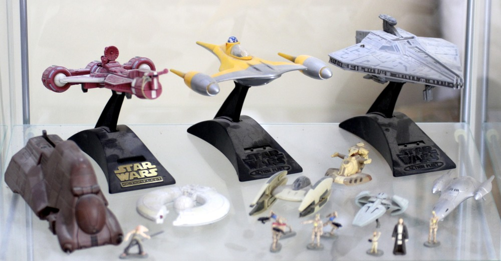 Republic Starships, Naboo Starfighter, Droid Transport, etc.