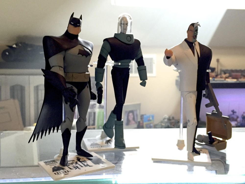 Batman, Mr. Freeze and Two Face