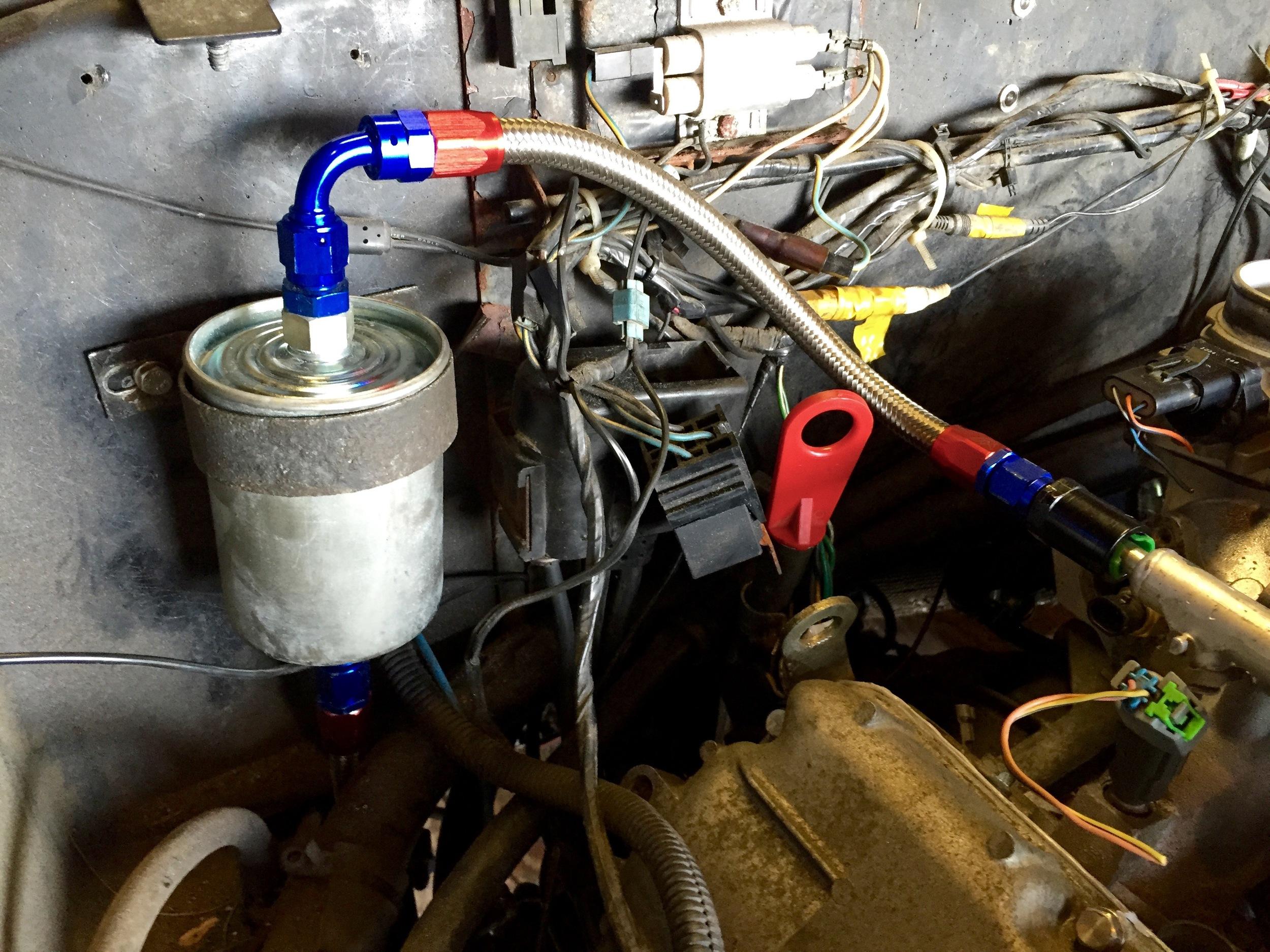 relocating the fuel filter \u2014 joe\u0027s projectsDelorean Fuel Filter #3