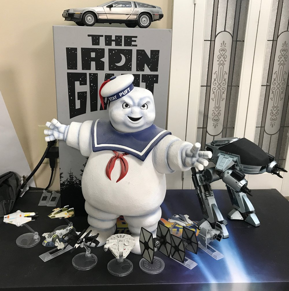 More Star Wars vehicles, the Stay Puft Marshmallow Man, and ED-202